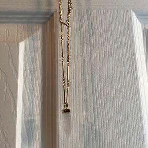 Long layered Stella &Dot necklace
